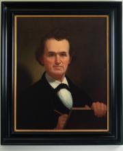 Reproduction of George Caleb Bingham Self Portrait