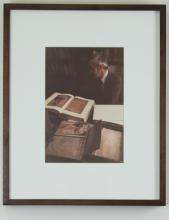Scholar with Illuminated Manuscripts