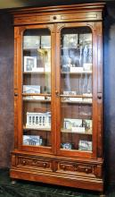 The Library's First Bookcase