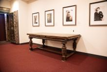 19th c. Table with Leaf