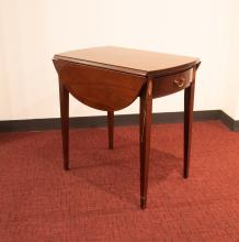 19th century Side Table, alternate view