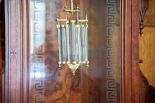 Victorian Centennial Clock Pendulum in Motion