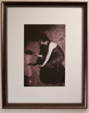 Portrait of Beth Beri with Smokey Vase