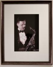 Portrait of Clyde McCoy Band Member, Rolla