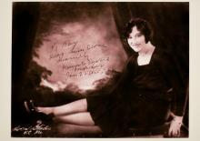 Portrait of Dainty Marie Meeker