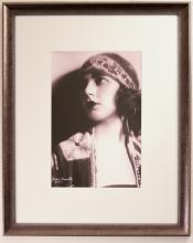 Portrait of Emma Haig with Head Scarf