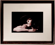 Portrait of Ernestine Myers with Cigarette