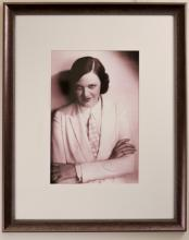 Portrait of Miss Egan Dressed in White