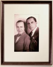 Portrait of Olsen and Johnson in Three-Quarter Pose