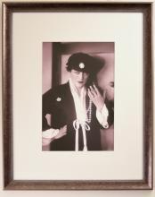 Portrait of Valeska Suratt Holding Necklace