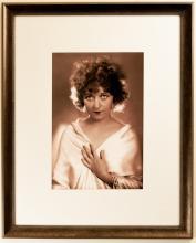 Portrait of an Unknown Vaudevillian Actress