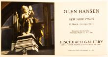 "Glen Hansen ""New York Times"" booklet from 2011 Fishbach Gallery Exhibit, inside"