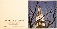 """Glen Hanson """"New York Times"""" booklet from 2011 Fishbach Gallery Exhibit front and back"""