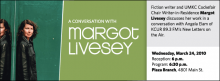 Fiction writer and UMKC Cockefair Chair Writer-in-Residence Margot Livesey discusses her work in a conversation with Angela Elam of KCUR 89.3 FM's New Letters on the Air.