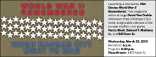Launching a new series, War Stories: World War II Remembered, Time magazine editor-at-large David Von Drehle interviews three of Kansas City's most recognizable veterans of the six-year conflict: civic giants Henry Bloch, Edward T. Matheny Jr., and Bill Dunn Sr.