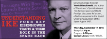 Dowling College historian Yanek Mieczkowski, the author of Eisenhower's Sputnik Moment: The Race for Space and World Prestige, discusses Ike's calm, effective response to the Soviet Union's inauguration of the Space Age in 1957.