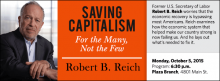 Former U.S. Secretary of Labor Robert B. Reich worries that the economic recovery is bypassing most Americans. Reich examines how the economic system that helped make our country strong is now failing us. And he lays out what's needed to fix it.