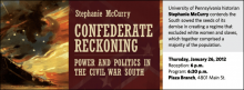 University of Pennsylvania historian Stephanie McCurry contends the South sowed the seeds of its demise in creating a regime that excluded white women and slaves, which together comprised a majority of the population.