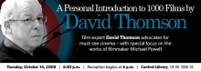 David Thomson: A Personal Introduction to 1000 Films