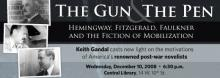 Keith Gandal: The Gun and the Pen
