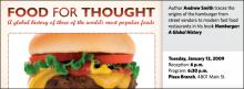 Hamburger: A Global History