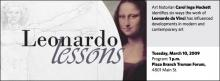 Carol Inge Hockett: Leonardo Lessons