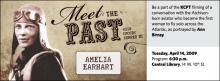 Meet the Past: Amelia Earhart