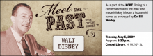 Meet the Past: Walt Disney