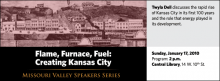 Twyla Dell discusses the rapid rise of Kansas City in its first 100 years and the role that energy played in its development.