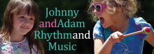 Experience the magic of community rhythm making. Kansas Citians Johnny and Adam Pierce lead attendees young and old in a lively interactive performance – shaking and rattling, clapping and stomping, singing and drumming. For all ages.