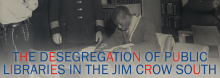 """Florida State University's Wayne Wiegand, widely considered the """"dean of American library historians,"""" examines an overlooked chapter in our nation's civil rights history in a discussion of his book The Desegregation of Public Libraries in the Jim Crow South: Civil Rights and Local Activism."""