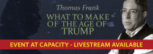A year after admonishing Democrats in his book Listen, Liberal: Or What Ever Happened to the Party of the People? – an insightful prelude to Donald Trump's stunning victory in November – Kansas City-born author Thomas Frank assesses the post-election mood in the Midwest.