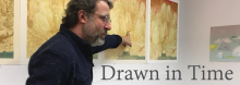 Lawrence, Kansas, artist Michael Krueger, whose drawings are featured in the Library exhibit There From Here, Selected Drawings 2008-2018, discusses his works and the research that informs their frequent historical references. He also examines the process of drawing – what it means to him and other artists.