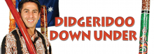 """Get to know the didgeridoo, the distinctive wooden """"drone pipe"""" developed by Australian Aborigines. Didgeridoo Down Under performers fuse music with culture, science, comedy, and lessons in character building, anti-bullying, and environmentalism. And yes, there's audience participation. For all ages."""