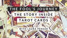 Tarot Cards scattered on a table