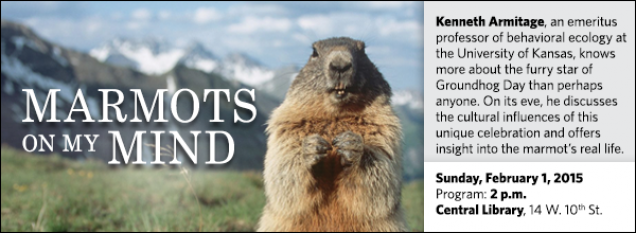 Kenneth Armitage, an emeritus professor of behavioral ecology at the University of Kansas, knows more about the furry star of Groundhog Day than perhaps anyone. On its eve, he discusses the cultural influences of this unique celebration and offers insight into the marmot's real life.