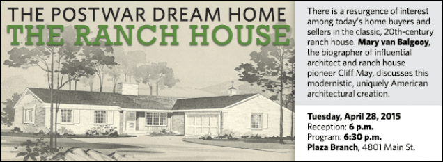There is a resurgence of interest among today's home buyers and sellers in the classic, 20th-century ranch house. Mary van Balgooy, the biographer of influential architect and ranch house pioneer Cliff May, discusses this modernistic, uniquely American architectural creation.