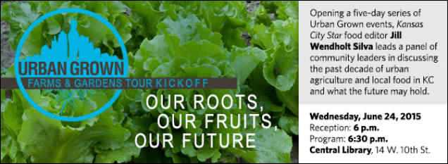Opening a five-day series of Urban Grown events, Kansas City Star food editor Jill Wendholt Silva leads a panel of community leaders in discussing the past decade of urban agriculture and local food in KC and what the future may hold.