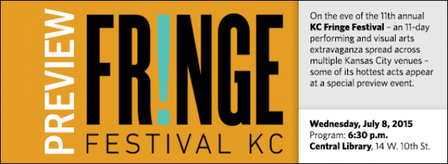 On the eve of the 11th annual  KC Fringe Festival – an 11-day performing and visual arts extravaganza spread across multiple Kansas City venues – some of its hottest acts appear at a special preview event.