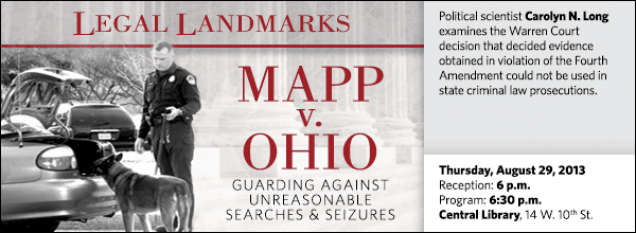 Political scientist Carolyn N. Long examines the Warren Court decision that decided evidence obtained in violation of the Fourth Amendment could not be used in state criminal law prosecutions.