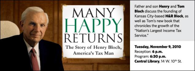 """Father and son Henry and Tom Bloch discuss the founding of Kansas City-based H&R Block, as well as Tom's new book that chronicles the growth of the """"Nation's Largest Income Tax Service."""""""