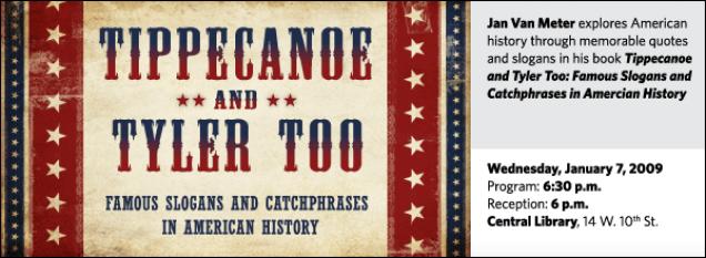 Jan R. Van Meter: Tippecanoe and Tyler Too