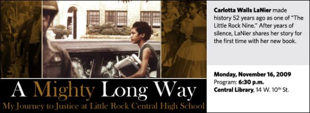 Carlotta Walls LaNier made history 52 years ago as one of The Little Rock Nine. After years of silence, Lanier shares her story for the first time with her new book.