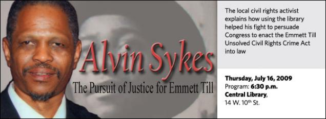 The local civil rights activist explains how using the library helped his fight to persuade Congress to enact the Emmett Till Unsolved Civil Rights Crime Act into law