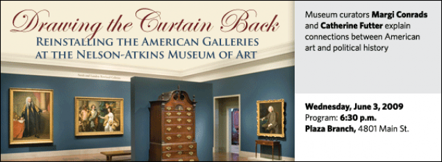 Museum curators Margi Conrads and Catherine Futter explain connections between American art and political history