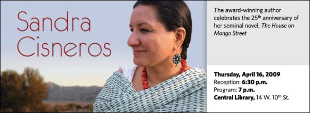 Sandra Cisneros: The House on Mango Street