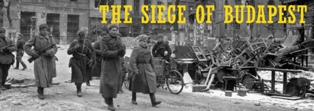Military historian Sean Kalic of the U.S. Army Command and General Staff College discusses one of the most frightful urban battles of World War II. Russia's Red Army liberated the German-held Hungarian capital at a cost of more than 150,000 lives.