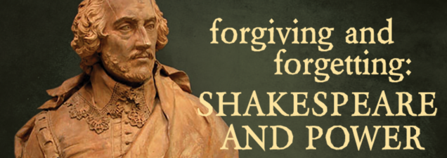 """The University of Notre Dame's Peter Holland, one of the world's foremost authorities on Shakespeare, examines the great playwright's skill at subtly raising questions that resonate to this day. What does it mean, for example, to """"forgive and forget?"""" Why do we (and did King Lear) say it?"""