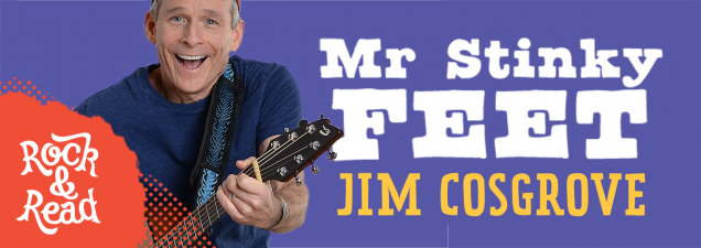 Kansas City's Jim Cosgrove (aka Mr. Stinky Feet) helps kick off our annual Youth Summer Reading Program with an interactive, high-energy show that makes kids the stars. Come prepared to sing, dance, and rock the Library.