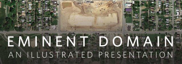 Through photographs and objects he collected, artist Matt Rahner documented the dismantling of a section of Kansas City's Wendell Phillips neighborhood via eminent domain. He gives an illustrated talk about his work, on display in the installation Eminent Domain in the Central Library.